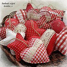 Dekorácie - červeno biele väčšie - 4591761_