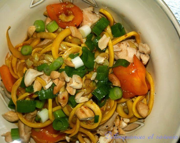 Délinquances et saveurs: Nouilles au poulet Kung Pao