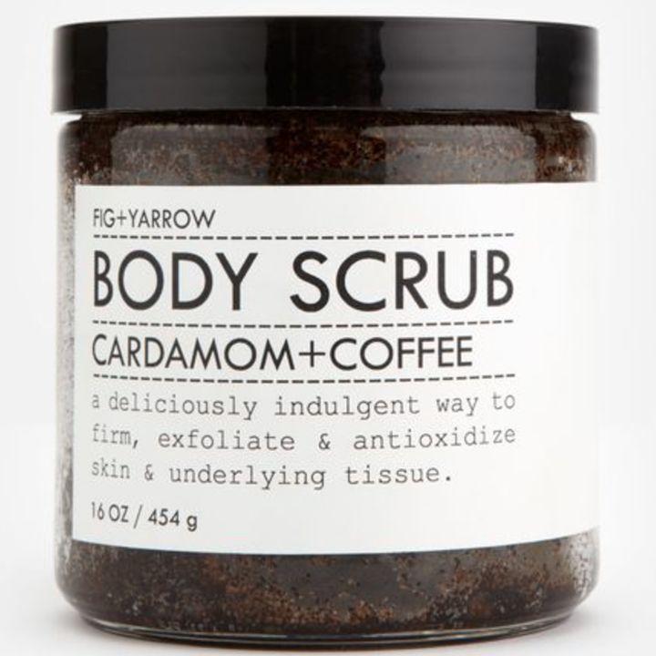 Fig and Yarrow Coffee Body Scrub TueNight.com