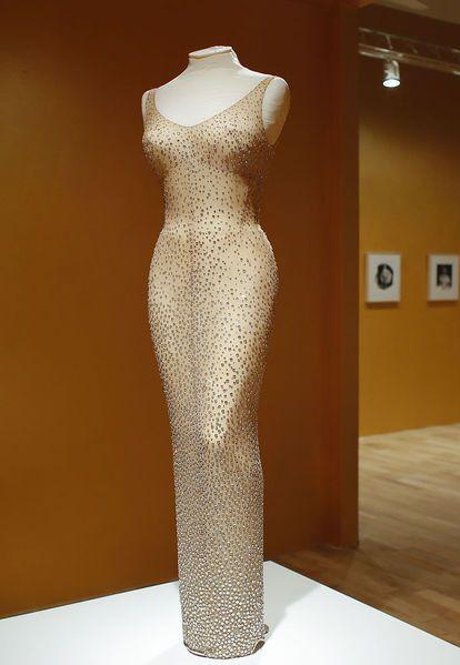 Marilyn Monroe's dress from JFK birthday sells for $4.8 million at auction