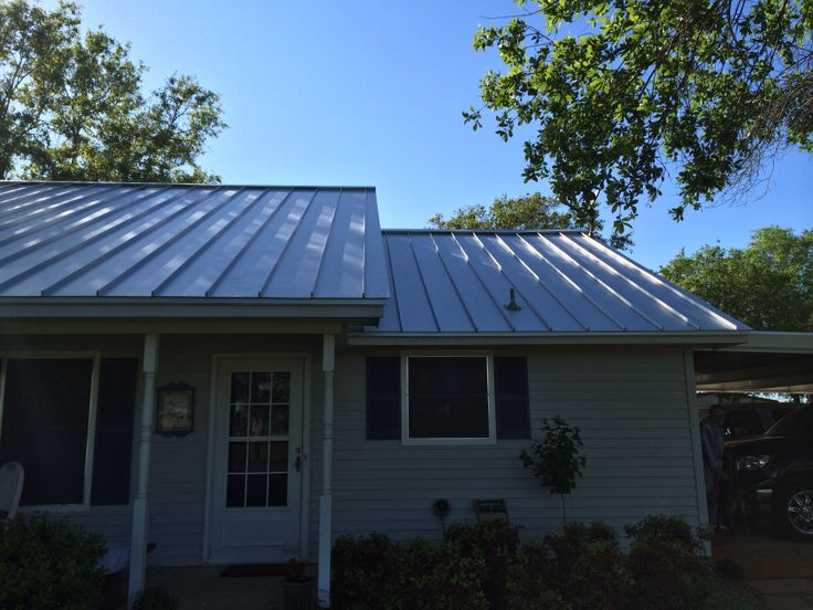 Ranch house reroof texas elite roofing inc pinterest for Metal roof ranch house