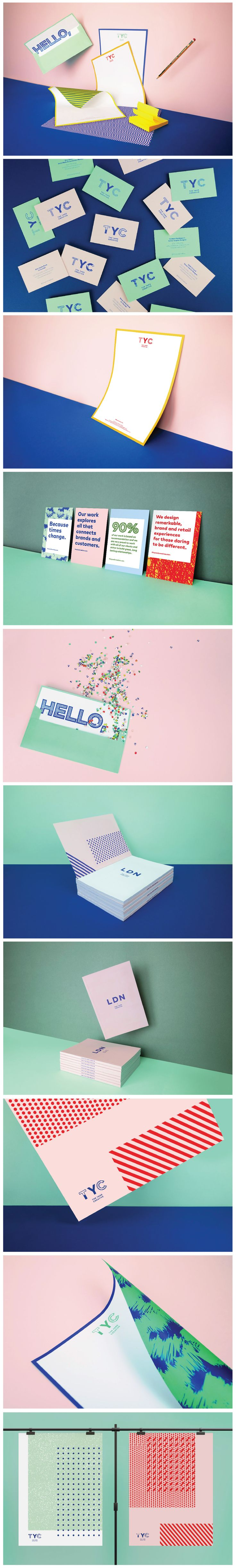 The Yard Creative self promotion and brand materials Graphic Design Logo Design Stationary