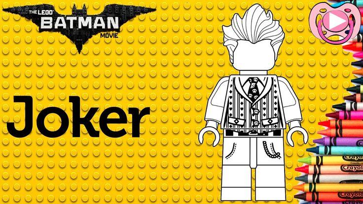 Lego Batman 2017 - Colorir o Joker
