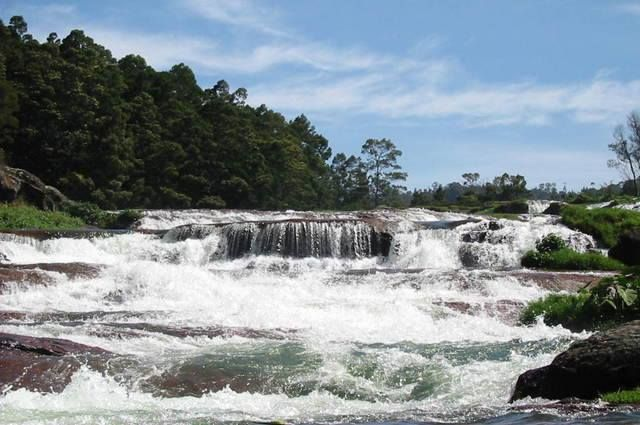 #PykaraFalls, #Ooty are famous for the shola trees, Toda settlements and wildlife.