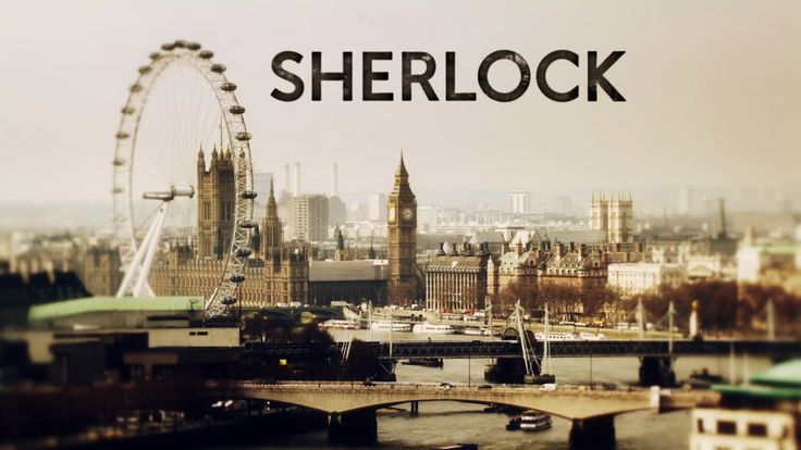 Sherlock Holmes theme shot