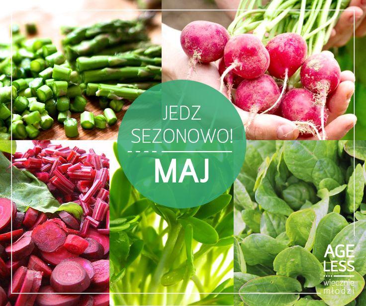 W maju, oprócz piękniejącej na naszych oczach przyrody, następuje istny wysyp nowalijek. Warto je wprowadzić na stałe do naszego jadłospisu :)  #ageless #wieczniemlodzi #nowalijki #maj #warzywa #sezonowosc #wiosna www.ageless.pl