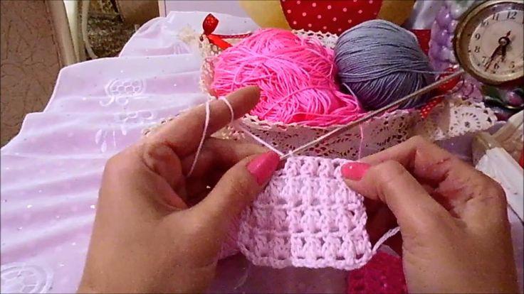 tığ örnek,crochet tutorial,crochet,crochet blanket