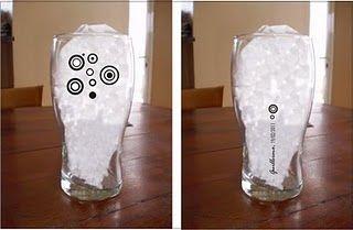 vasos elegidos para una fiesta de 15