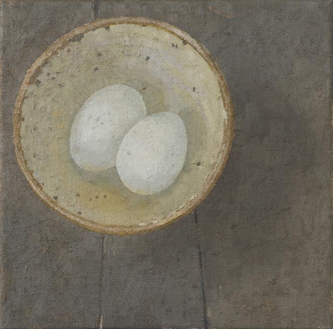 Sarah Gillespie. Duck Eggs. Oil Paintings.