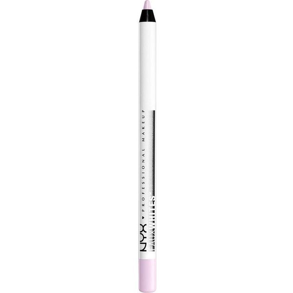 NYX PROFESSIONAL MAKEUP Faux White Eye Brightener ($6.16) ❤ liked on Polyvore featuring beauty products, makeup, eye makeup, highlight makeup, nyx, nyx cosmetics, brightener makeup and eye pencil makeup
