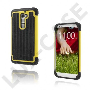 Impact (Gul) LG G2 Ultra-Sikkert Deksel