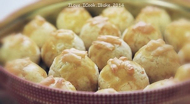 Cheesy Pineapple Tart (Enclosed Version)