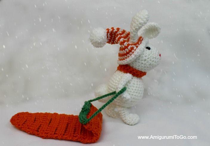 Winter Bunny Free Amigurumi Pattern ~ Amigurumi To Go