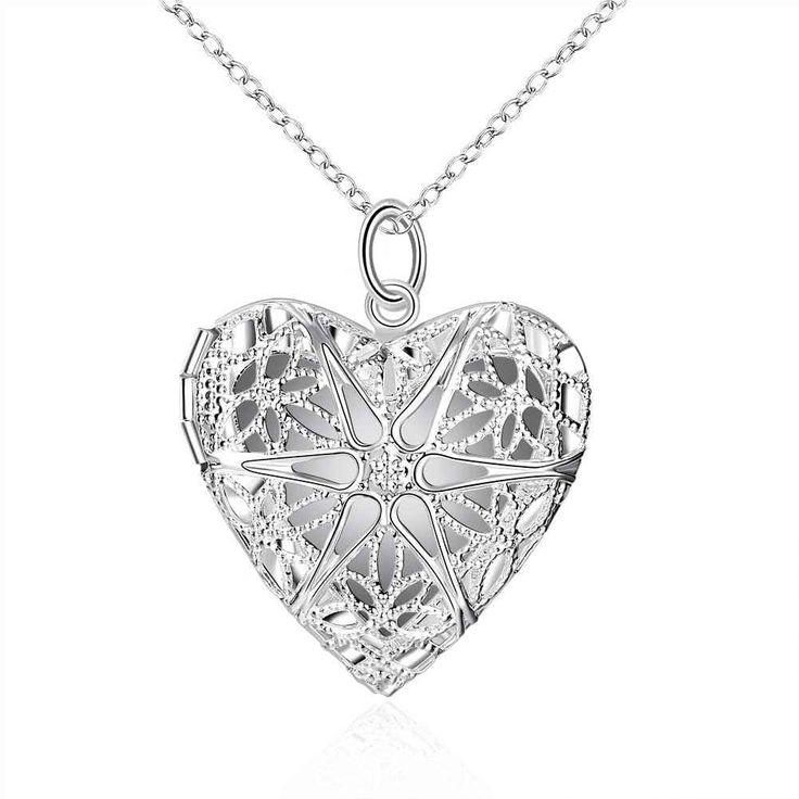 Купить Бесплатная Доставка Новое Прибытие! серебряные подвески в форме Сердца…