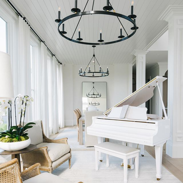 White Baby Grand Piano In Beautiful Living Room Regram Via Bzvsmffdbxk Home Decor At Home Furniture Store Home