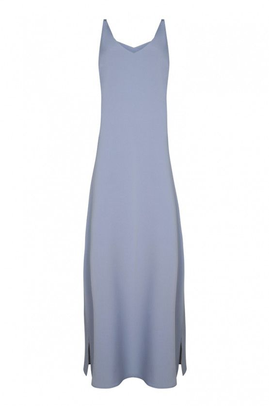 arise dress / dusk grey