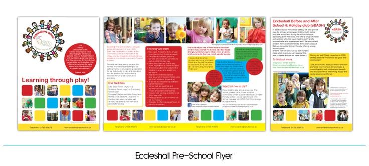 Pre-School Flyer | Preschool | Pinterest | Flyers