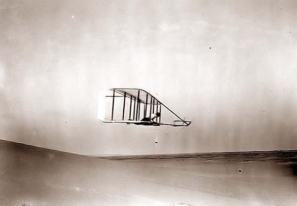 Wilbur Wright Soaring