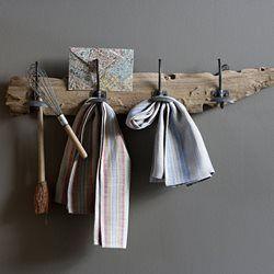 Porte-manteau, patère bois flotté Kosta AM.PM - Décoration, rangement