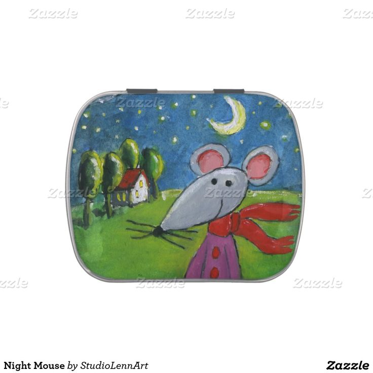 Night Mouse Candy Tin