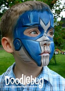 transformer Face Paint | Transformers – Optimus Prime