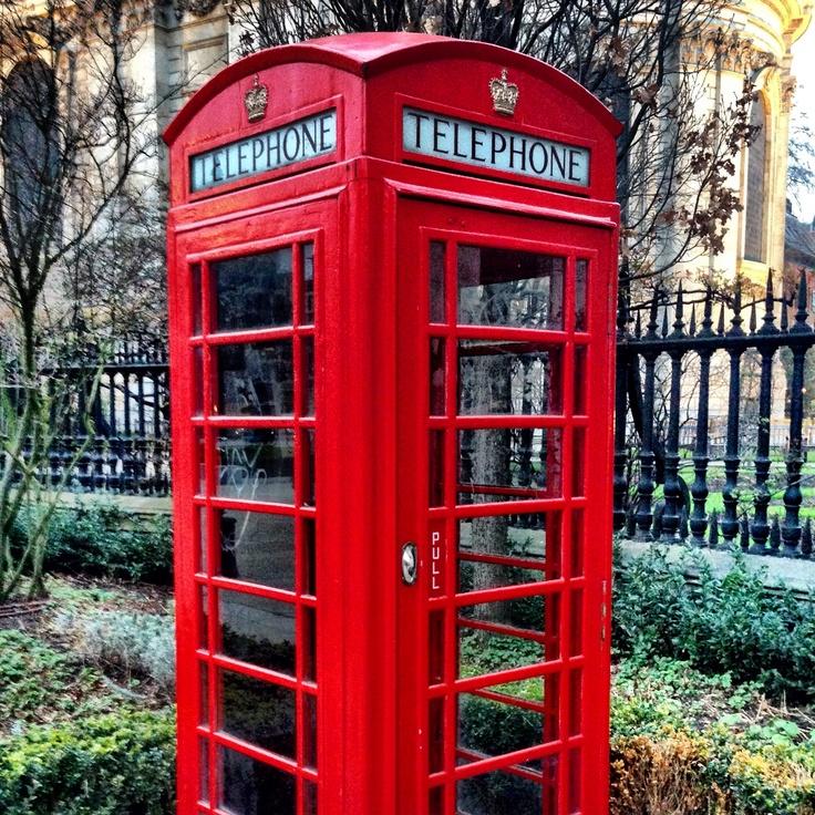 London Telephone Cabin