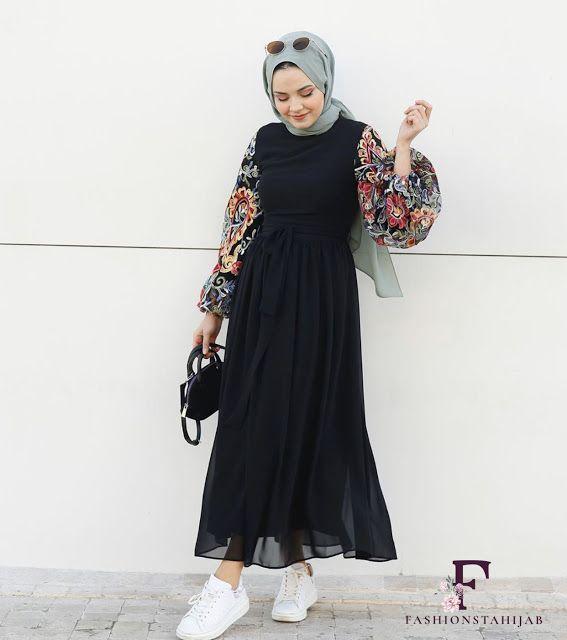 Hijab Fashion Outfits Model Pakaian Hijab Gaya Model Pakaian Gaya Berpakaian