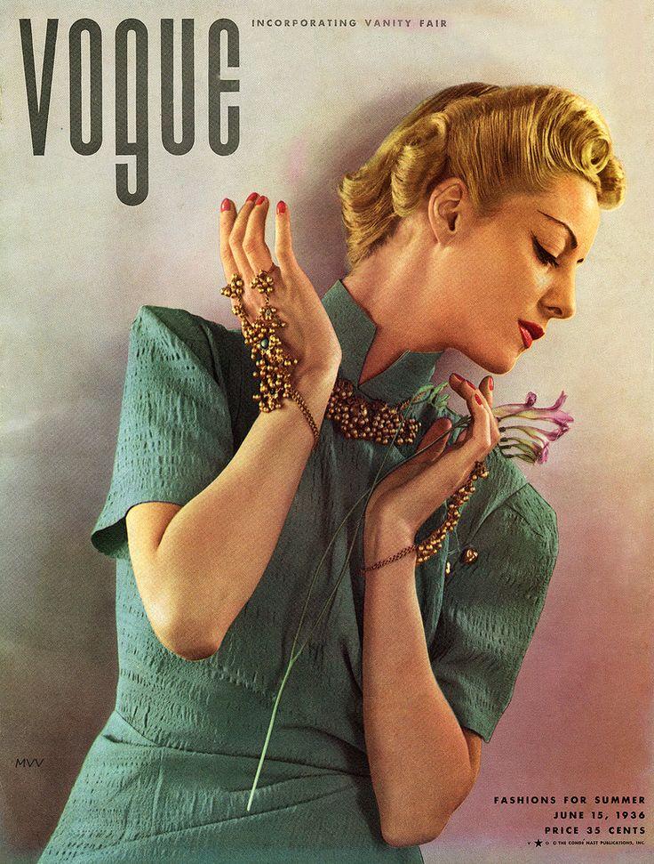 Edward Steichen- Vogue, Helen Bennett 1936