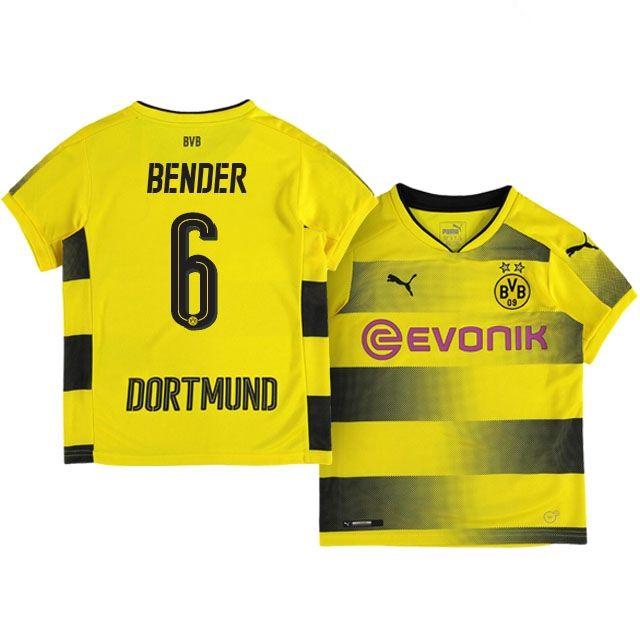 Kids Borussia Dortmund Home Kit 17-18 bender