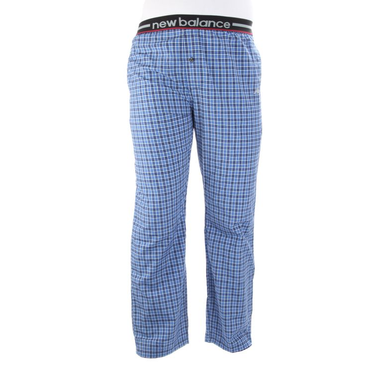 New Balance Men's Woven Sleep Pants – Blue