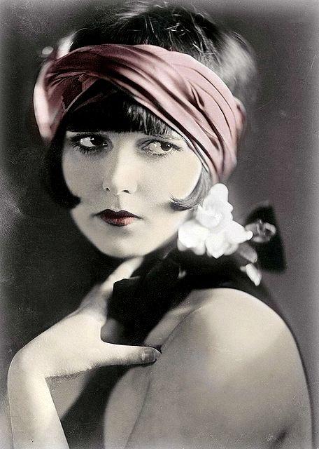 Una de las caras más famosas del cine mudo Mary Louise Brooks