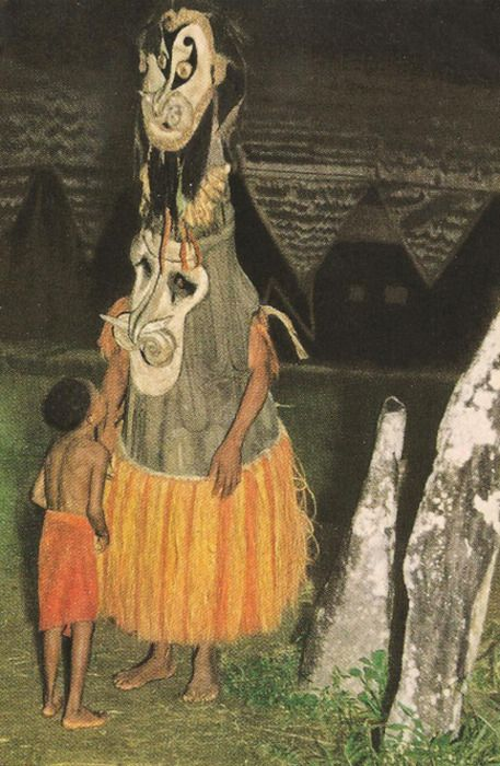 sorcerer of new guinea, 1955