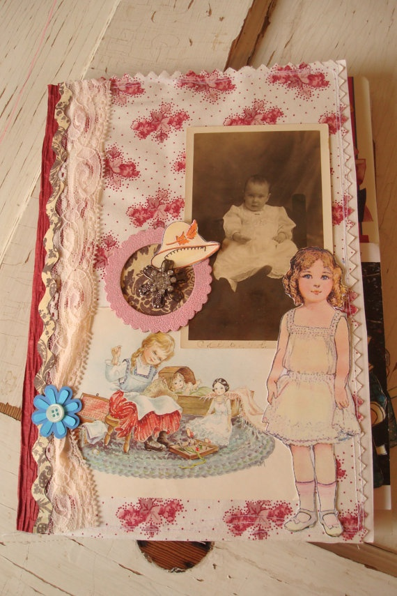 Pink Doll Baby Junk Journal