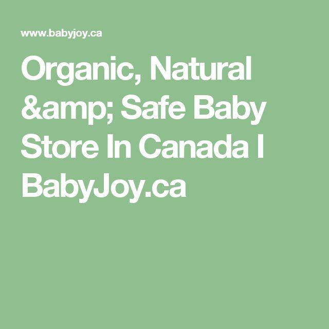 Organic, Natural & Safe Baby Store In Canada I BabyJoy.ca
