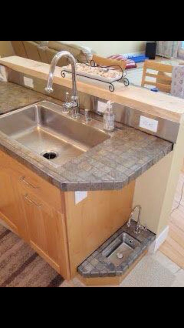 Doggy sink water bowl