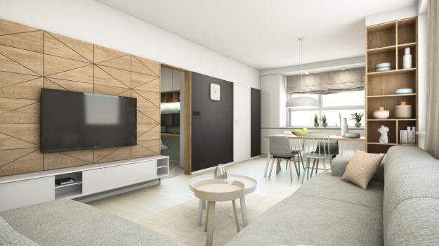Návrh interiéru Borodáčova / Reconstruction of a flat in Bratislava
