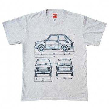 Koszulka MALUCH grey - FIAT 126