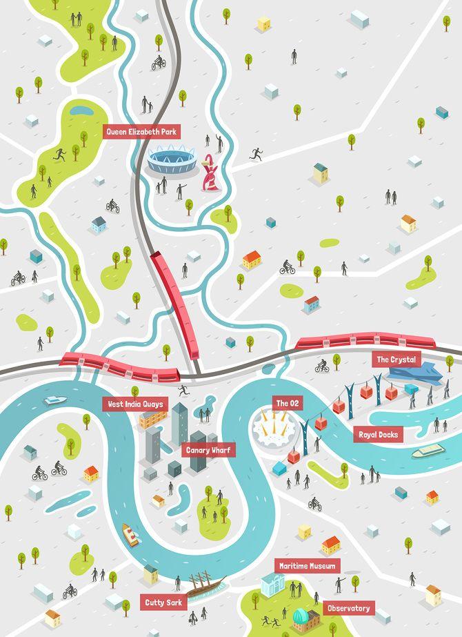 Map Work - Alex Mathers Illustration