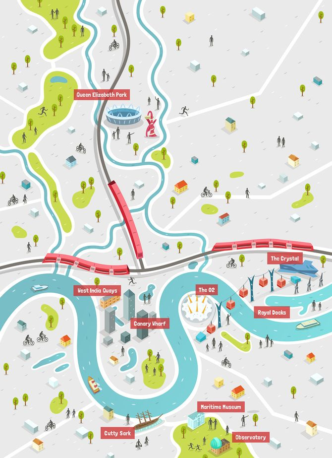 Map Work - Alex Mathers Illustration