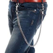 Resultado de imagen para accesorios corporales con cadenas estilo rock