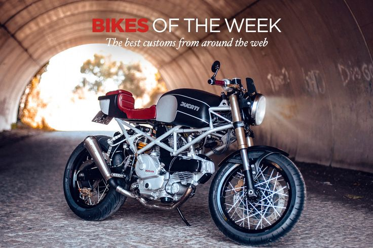 A killer Ducati Monster cafe racer leads our latest Custom Bikes Of The Week