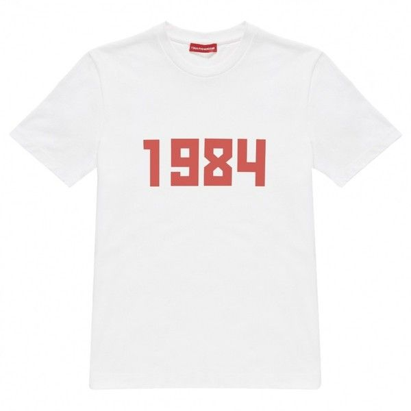 White Cotton T-shirt GOSHA RUBCHINSKIY ($160) ❤ liked on Polyvore featuring tops, t-shirts, cotton t shirts, white top, white t shirt, white cotton tops and white cotton tee
