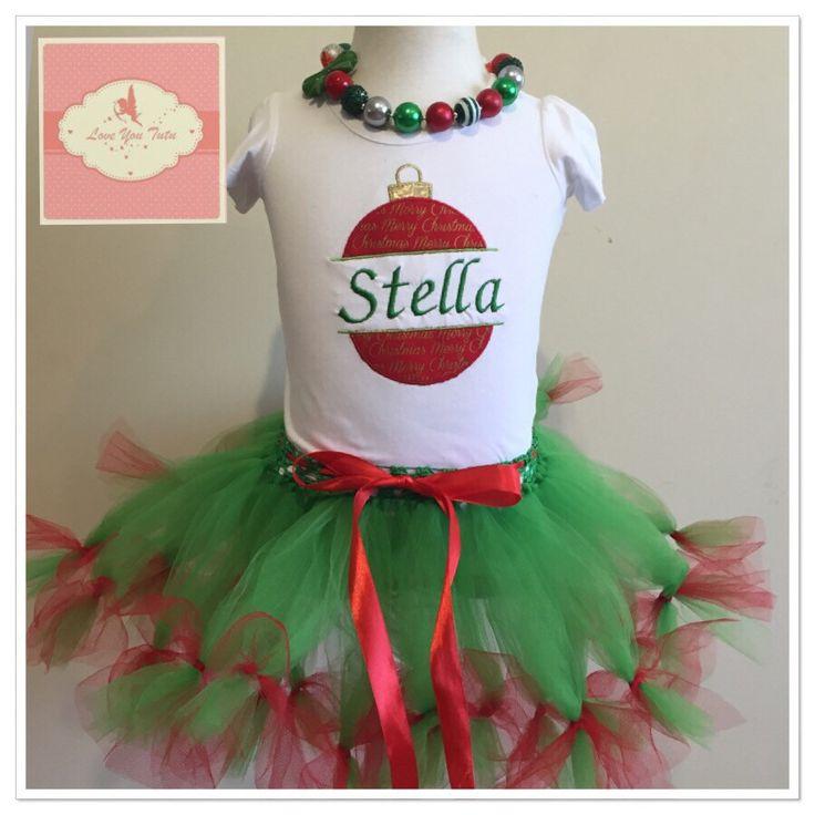 Christmas Short Petti Tutu skirt