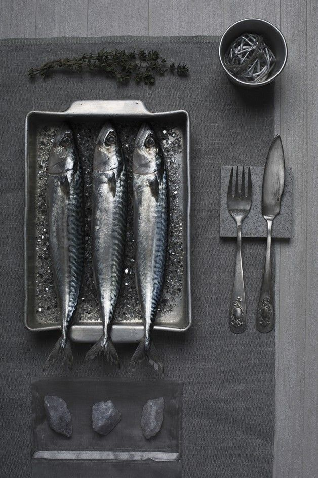 Silver Grey | Monochrome Food by Isabella Vacchi #photography