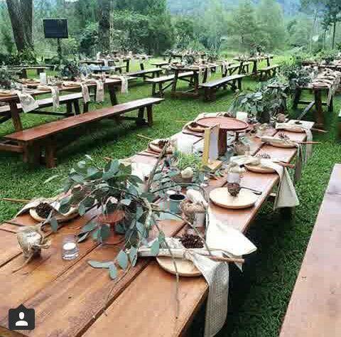 Andien-ippe wedding decor