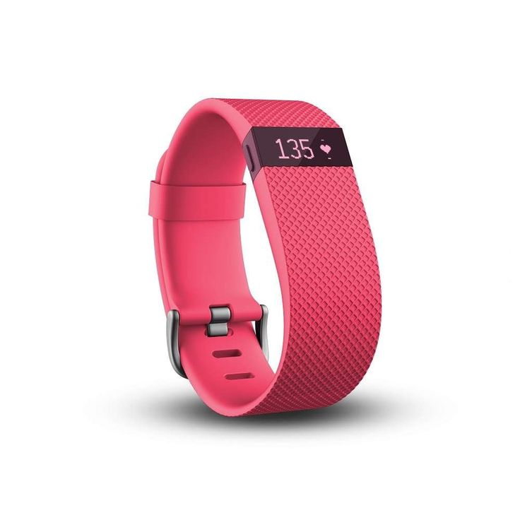 Фитнес гривна Fitbit Charge HR Large, Розова (FB405PKL-EU) - цена и характеристики | Plasico IT Superstore