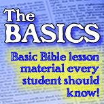 KJV The Basics Sunday school curriculum.  This could be used for tween, teen or adult classes.   Also has word search puzzles.