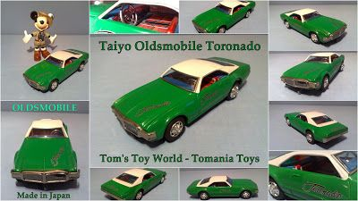 **** Tom's Toy World - TomaniaToys ****: Taiyo Made in Japan