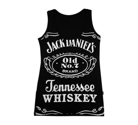 ArtRock - Camisetas e Estampas exclusivas - Regata JACK DANIEL'S BLACK  Jack Daniels é um uísque fabricado pela Jack Daniel Distillery, fundada em 1876 pelo destilador norte-americano Jack Daniel (Jonathan Daniel), com sede na cidade de Lynchburg, Tennessee, Estados Unidos da América. Desde 1956 pertence ao grupo Brown-Forman Corporation