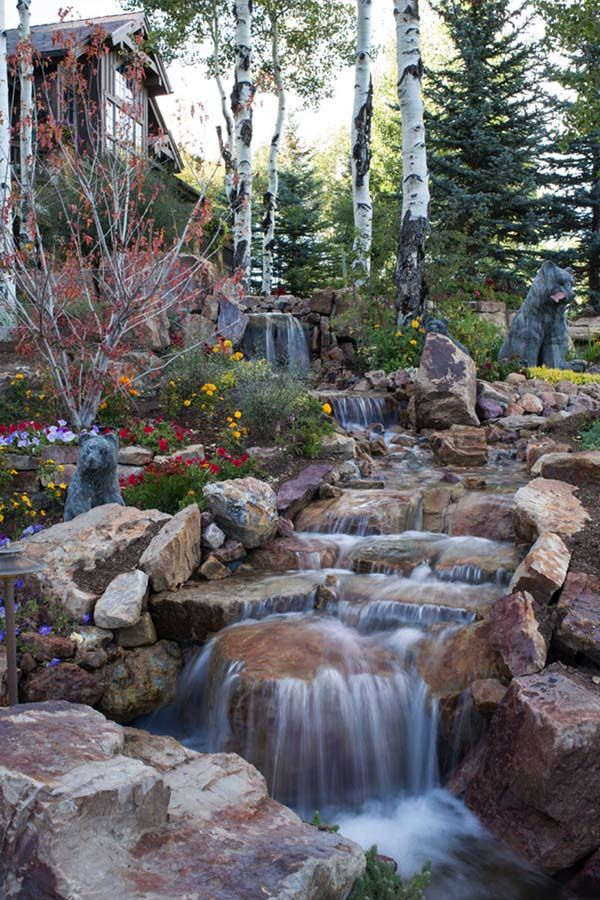 Best 25+ Backyard Waterfalls Ideas On Pinterest | Water Falls Backyard,  Water Falls Garden And Diy Waterfall